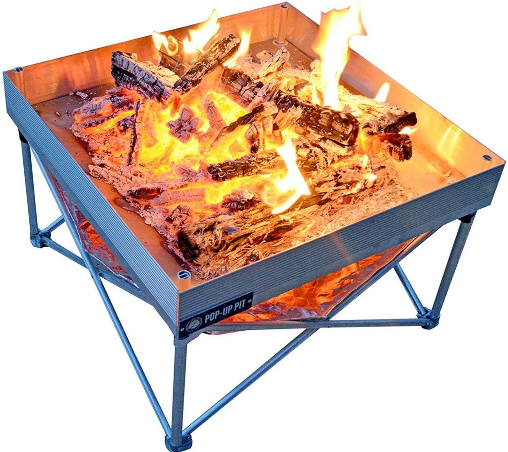 Campfire Defender Pop-Up Fire Pit Portable and Lightweight