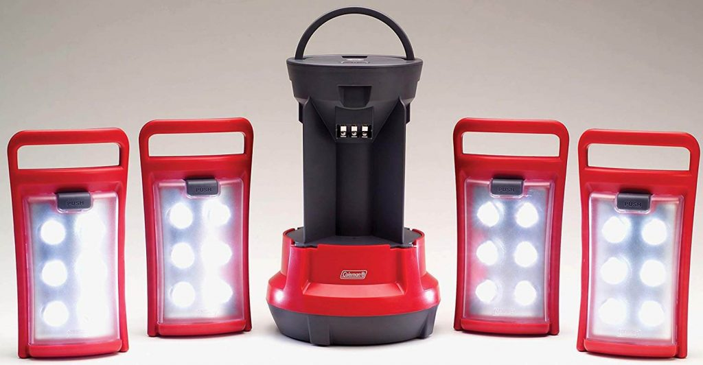 Coleman Quad LED Lantern Special Edition Ultra Bright 190 Lumens