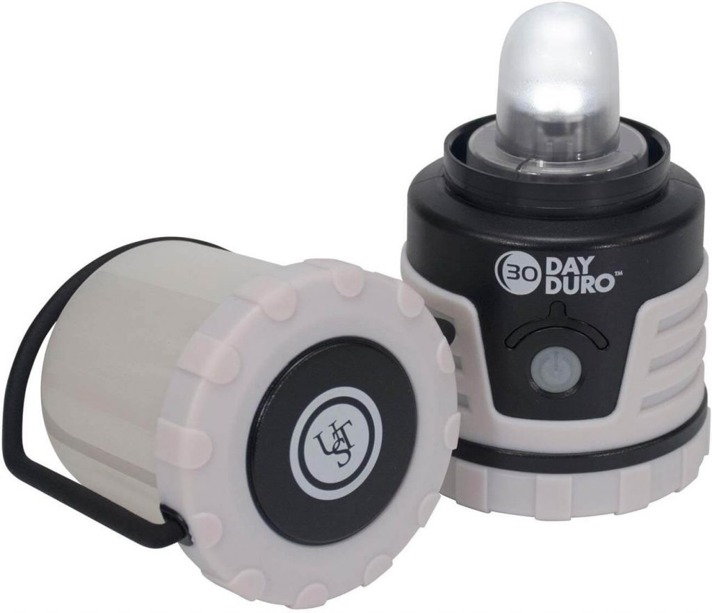 UST 30-Day Duro LED Portable 700 Lumen Lantern with Lifetime LED