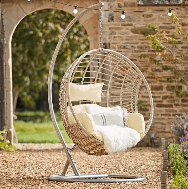 Cox & Cox Indoor Outdoor Hanging Chair