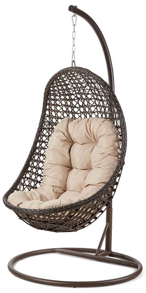 Maze Rattan Malibu Garden Hanging Chair