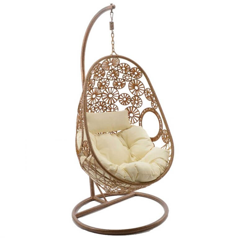 Meadow hanging chair with base