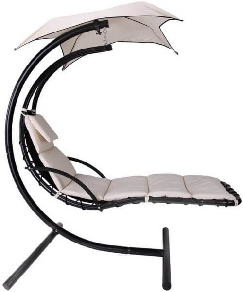 Palm Springs Outdoor Hanging Chaise Longue